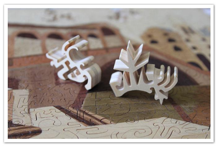 Puzzle legno premio gara sprint