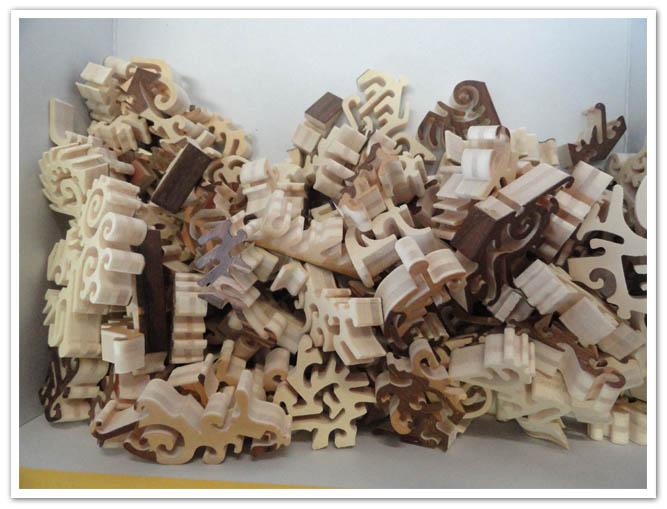 puzzle di legno premio gara sprint2