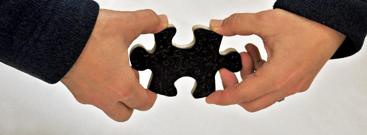 Puzzle in esposizione