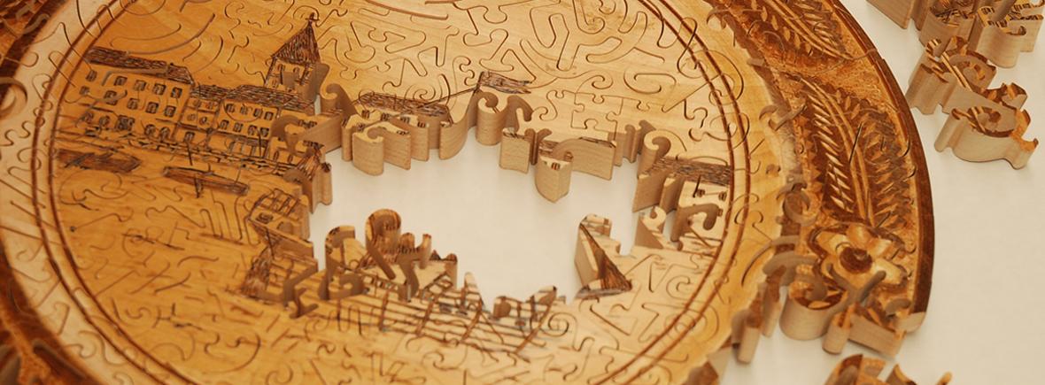 I nostri puzzle di legno